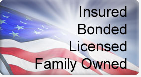Fully Licensed, Insured & Bonded